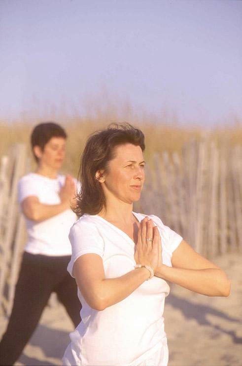 sasa for beach yoga